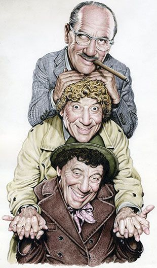 At the Society of Illustrators  Drew Friedman's Old Jewish Comedians March 05, 2014 – May 03, 2014