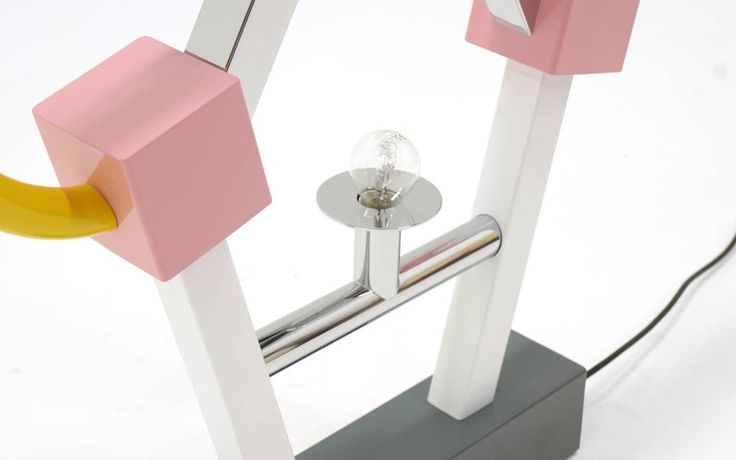 Ashoka Large Table Lamp by Ettore Sottsass for Memphis Milano (1981)