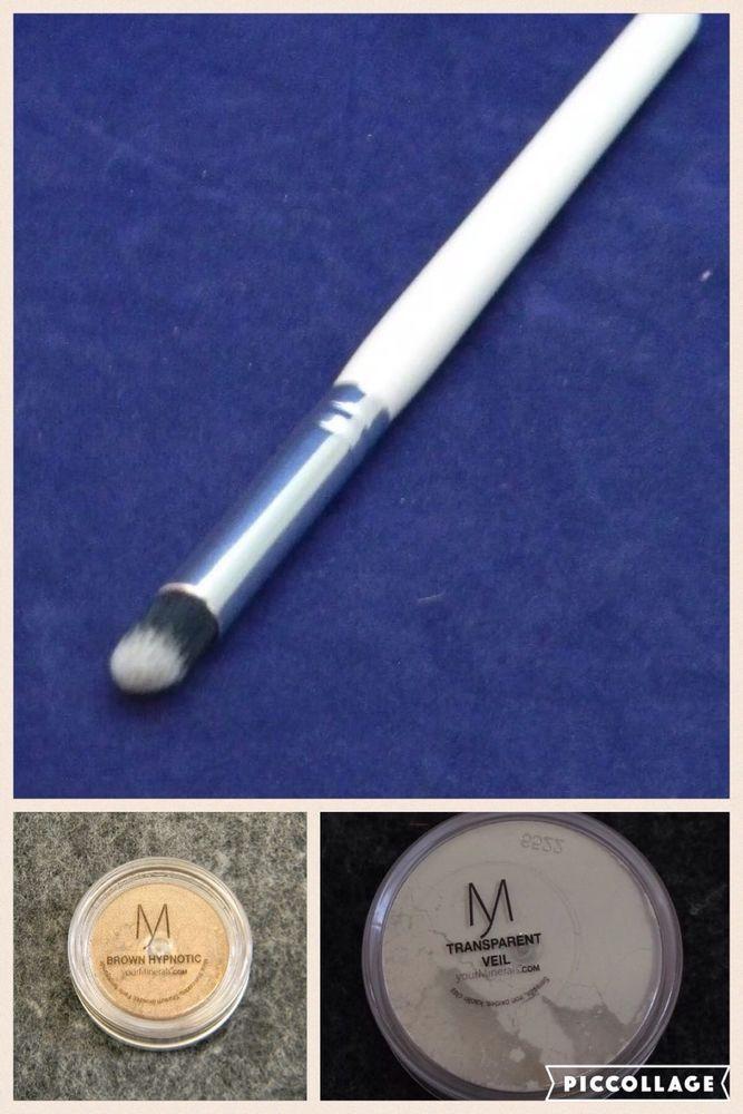 Modern Minerals Makeup Lot (3 Items) Transparent Veil Setting Powder/ Eyeshadow