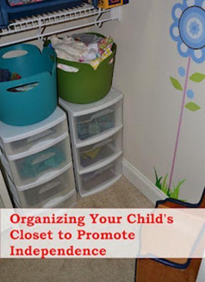 organizing kids' clothes  http://www.dirtandboogers.com/2012/09/get-organized-kids-clothes.html#