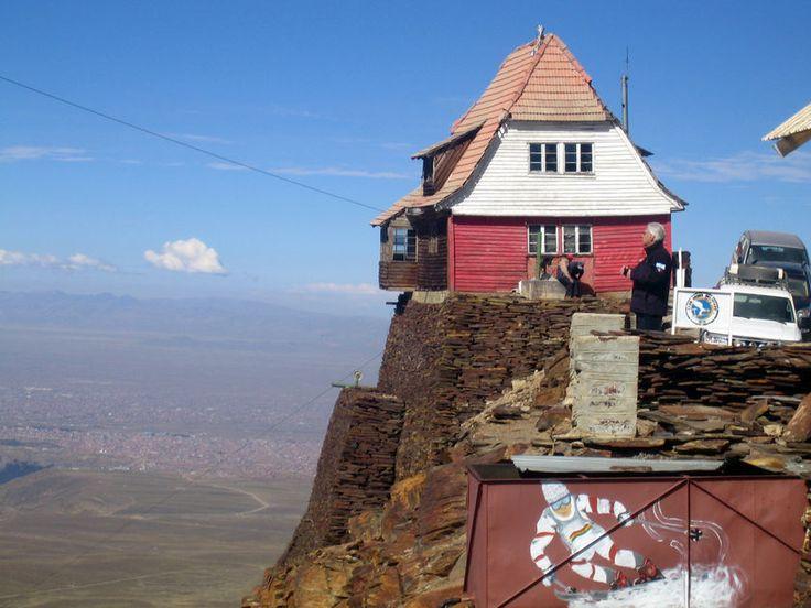 Bolivia. The highest ski resort in the world.