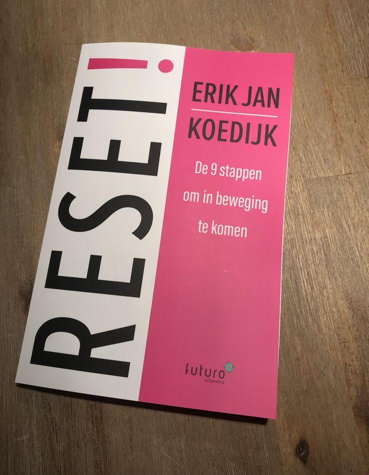 """Leuke reactie van Pauline over het boek """"RESET!' van Erik Jan Koedijk: """"Hee Erik Jan Koedijk kijk nou eens wat ik van sint gekregen heb!"""" Heel veel leesplezier en profijt Pauline! #reset #erikjankoedijk #futurouitgevers"""