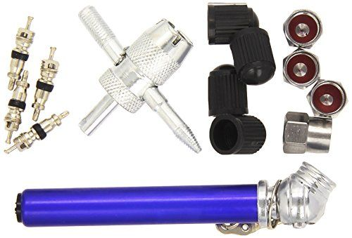 Silverline 380568 - Juego para reparación de válvulas de neumáticos 14 pzas 0,6 - 3,5 bar #Silverline #Juego #para #reparación #válvulas #neumáticos #pzas