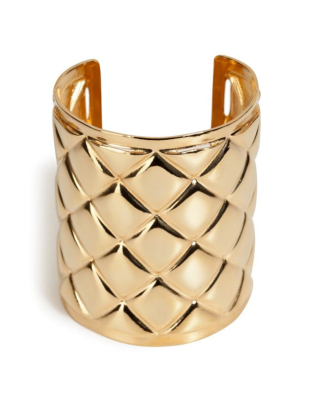 Shop now: Balmain Quilted Cuff