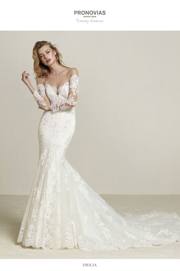 Pronovias Wedding Dress. Find Pronovias and More at Here Comes the Bride in San Diego, CA. HCTB.net (619) 688-9201