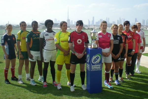 IRB Women's Sevens World Series is about to get underway in Dubai #Rugby #USA!