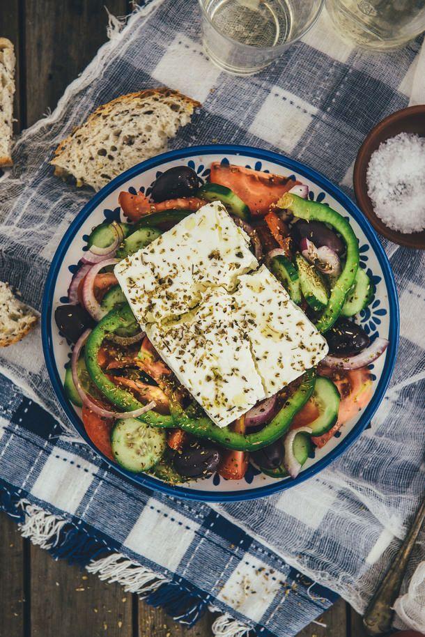 """""Greek salad | Souvlaki For The Soul"