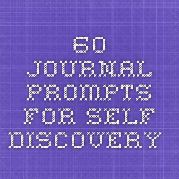 PDF: 60 Journal Prompts for Self-Love, Self -Discovery + a Spot of Self-Coaching | Spaces In Between