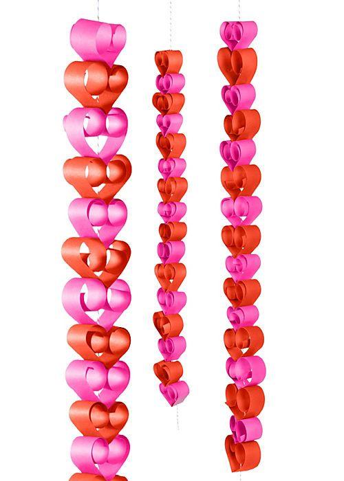 DIY Valentine's Day Heart Garland