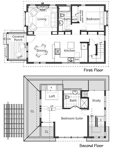 I adore Ross Chapin designs. I've wanted to build this cottage/house since I saw the pictures and floor plan six years ago. I'd want to modify the upstairs layout just a little bit though. Sadly enough, I've already drawn a to scale drawing of how I want the upstairs to be.