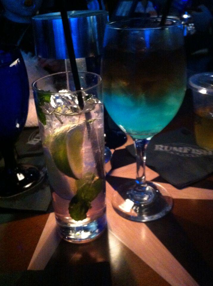 Drinks på RUMFiSH er altid godt