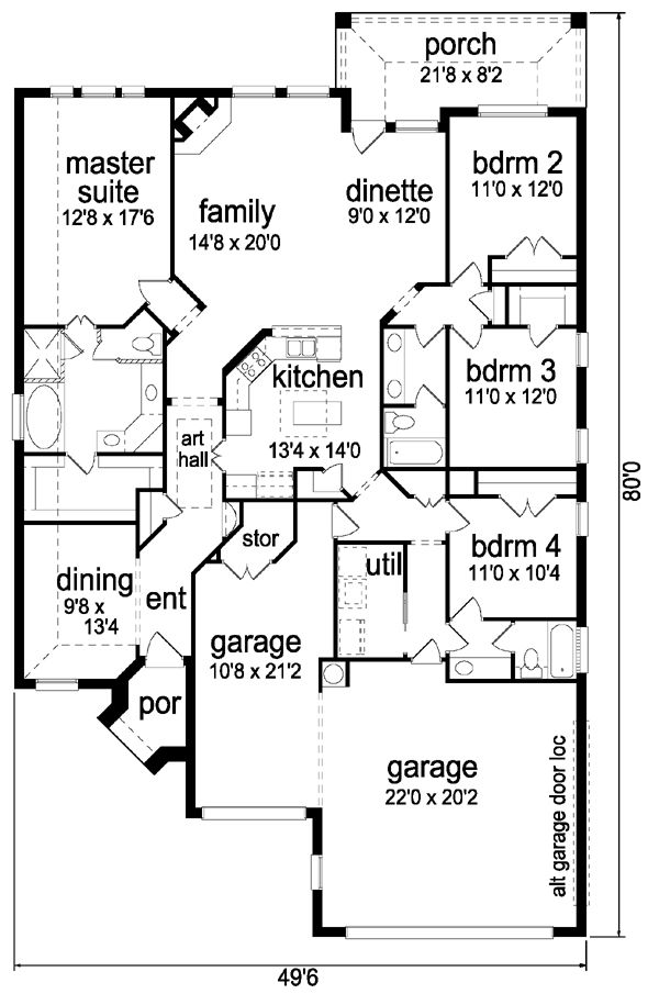 77 Best Home Plans Images On Pinterest Home Plans