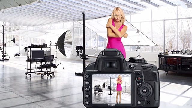 RoboStage: do remote photo shoot with real models and equipment on your browser