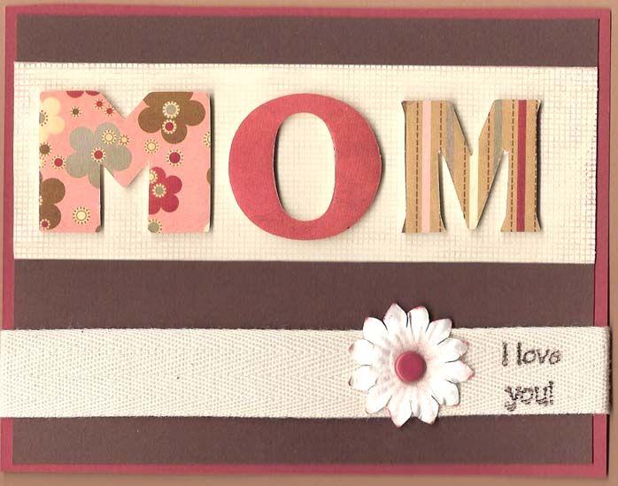 In arrivo tanti biglietti di auguri fai da te per la Festa della Mamma.