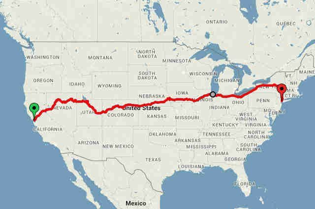 News This 213 Train Ride Shows You All Of America S Most Beautiful Sights As Of Jan 2017 Cross Country Train Trip Usa Travel Destinations America Travel