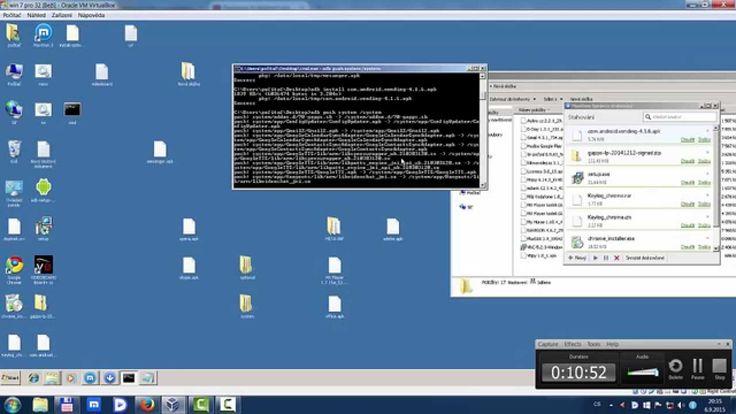 Instalace apk Raspberry pi2 os Android
