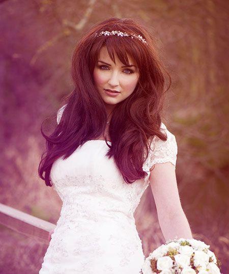 Wedding Hairstyle With Tiara: 66 Best Tiara Hairstyles Images On Pinterest