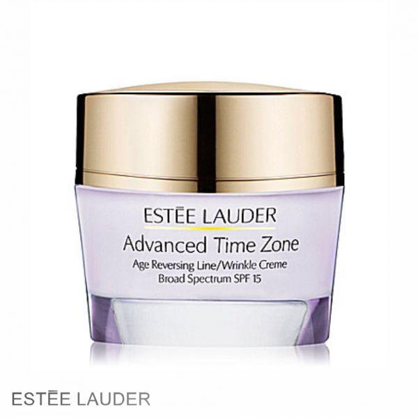 ESTEE LAUDER Advanced Time Zone wrinkle creme SPF15 50ml (DRY). Αντιρυτιδική κρέμα προσώπου για ξηρή επιδερμίδα. Δείξτε νεότερη σε 5 μόνο μέρες! Αποκτήστε την με έκπτωση από 95,00€ μόνο με 72,70€! #aromania #EsteeLauder #AdvancedTimeZone
