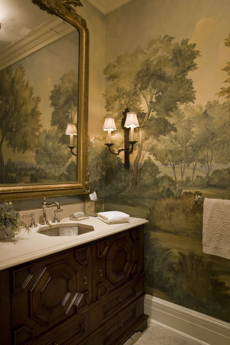 BATHROOM — Weston Georgian Manor Home - Traditional - Bathroom - Images by SLC Interiors | Wayfair