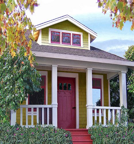 Mini, Micro, and Tiny Houses have a super small carbon footprint, are economical, and lend themselves to holistic lifestyle.     http://hookedonhouses.net/2008/08/22/living-small-tumbleweed-tiny-houses/