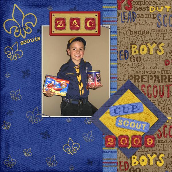 14 Best Scouting Scrapbooking Images On Pinterest Boy Scouting