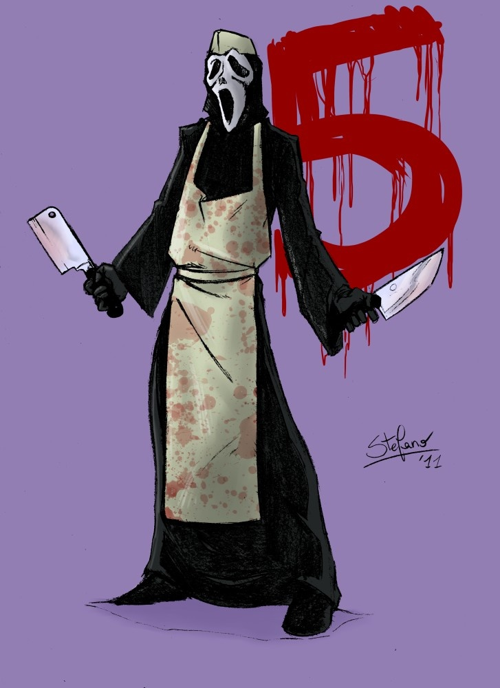 "Ghostface from ""Scream""."