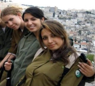 Beautiful Female Soldiers of Israeli Defence Forces   Global Military Review