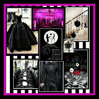 56 best A nightmare before Christmas wedding ideas images on ...