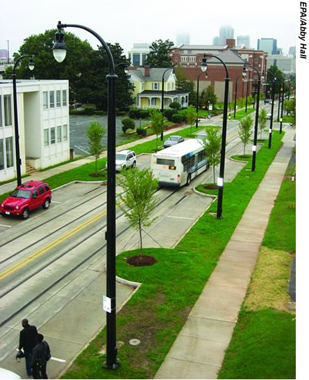The Effect Of Applying Charlotte 39 S Urban Street Design Guidelines Is Apparent On Elizabeth