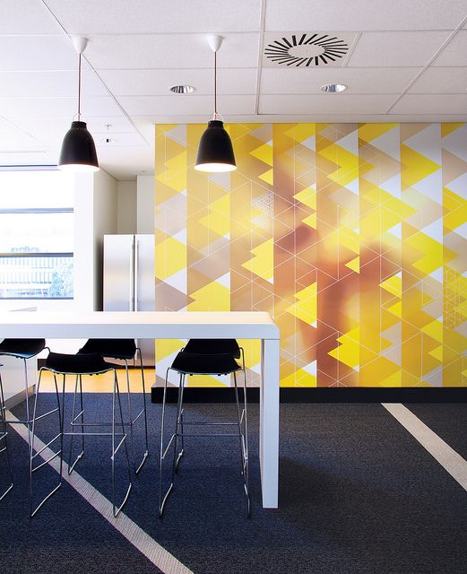 3m branded environment by there design via flickr for Marketing office design