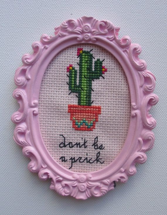 Mature Don't be a pri& Prickly Flower Cactus by SewMysterious