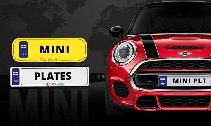 Create your perfect BMW Mini number plates online. Upload your own images, borders and side badges. Customize your mini number plate to meet your needs.