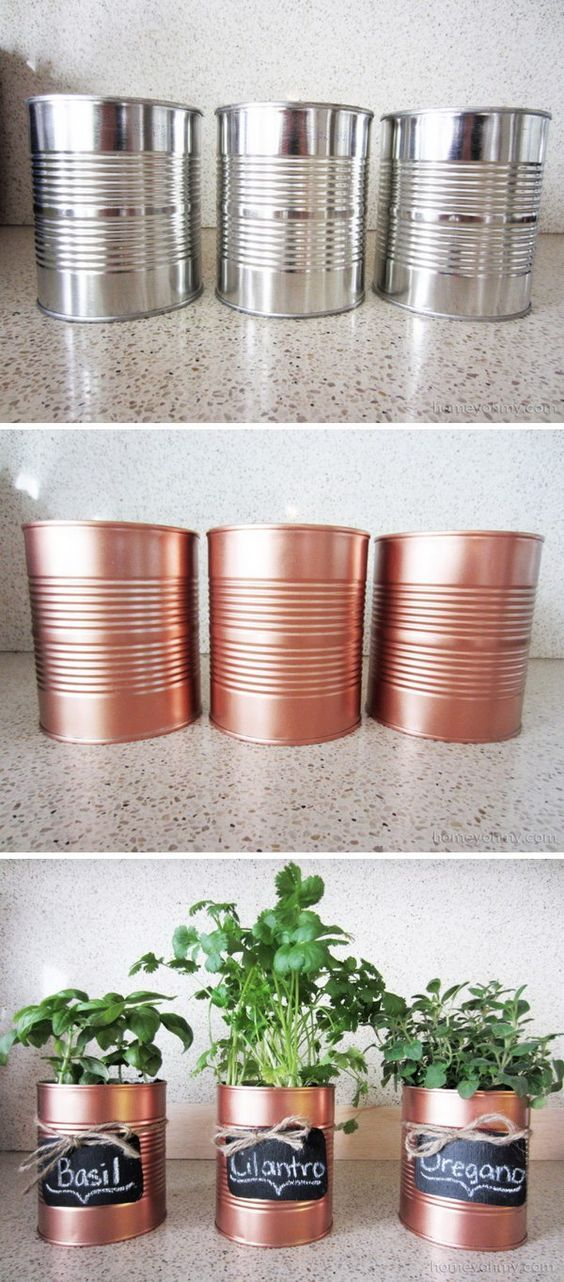 DIY Spray Paint Projects To Recycle Old Stuff
