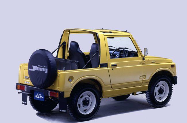 世界の名車<第70回>明確なキャラクターの「スズキ・ジムニー」