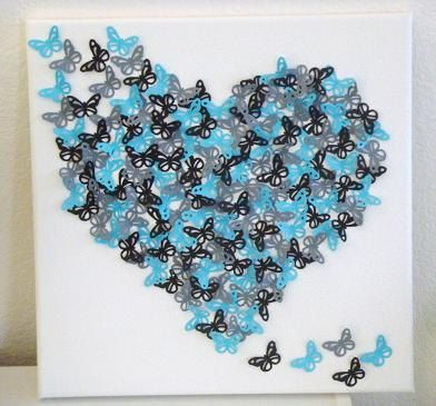 1000+ images about DIY Canvas art on Pinterest | Sprays, Simple ...