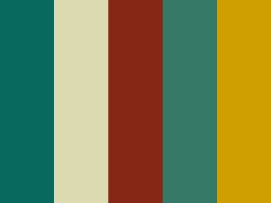 Retro and vintage colors