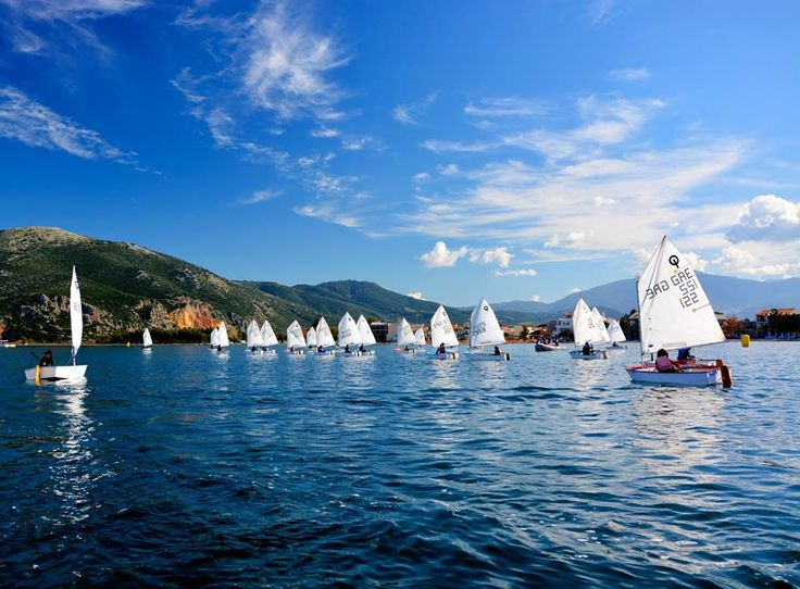 Lessons for small sailors from Nautical Club of Vonitsa