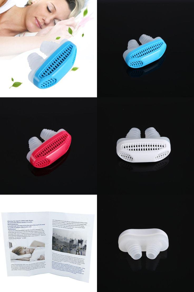 [Visit to Buy] Portable Sleeping Aid Anti-Snoring Stop Nose Grinding Air Clean Filter Air Purifying Apparatus Health Care CL1 #Advertisement