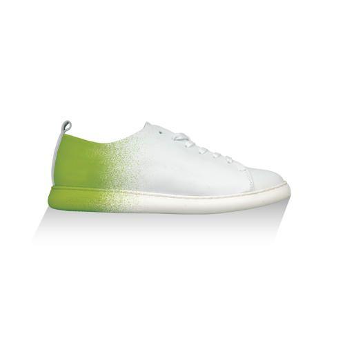 Grönt med vitt!
