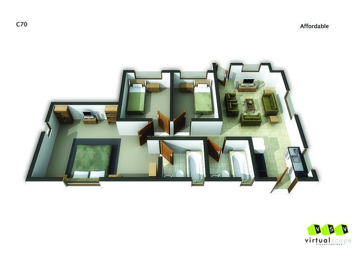 Affordable Unit ,70. Go to website: bit.ly/1hcfKVn #affordablehousing #property #developments