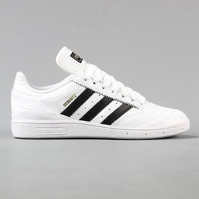 Adidas #skateboarding #dennis busenitz pro skate shoes leather #white black  gold, View
