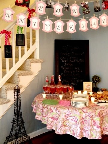 French Tea Party (PRINTABLE)