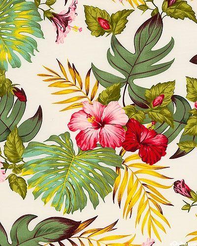 Patternatic Tropical Arttropical Printstropical Flowersfl