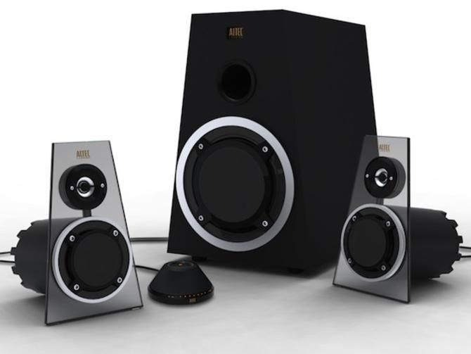 awesome computer speakers. crave giveaway of the week: altec lansing expressionist ultra pc speakers awesome computer