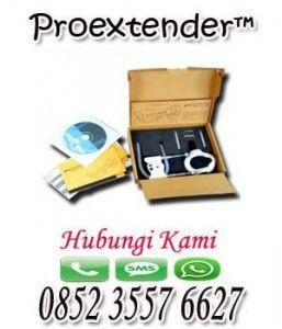 ALAT PEMBESAR PENIS PEMANJANG ALAT VITAL PRIA PROEXTENDER dirancang untuk memberikan traksi atau tarikan yang sangat aman tidak berbahaya dan tidak menyakitkan tetapi di tarik secara lembut ke penis.  Tag: Obat pembesar alat vital, pembesar alat vital, pembesar penis,proextender pembesar penis dan pemanjang penis Paket ProExtender Harga : Rp.600.000,- / Paket.