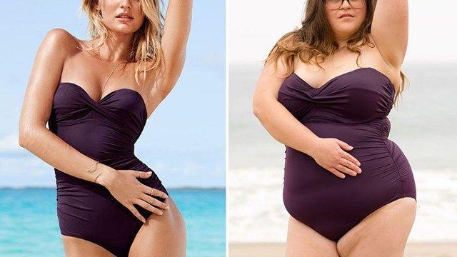 Fotos: los trajes de baño de Victoria's Secret en cuerpos sin modelar
