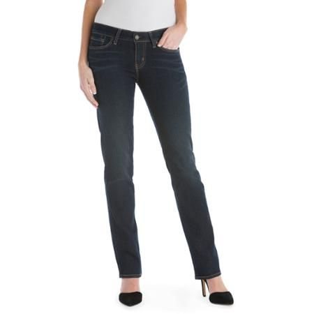 Signature by Levi Strauss & Co. Women's Straight Jeans - Walmart.com