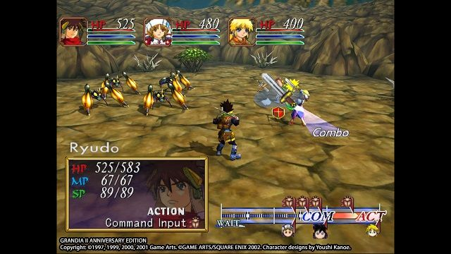 Grandia II Anniversary Edition Now on Steam and GOG