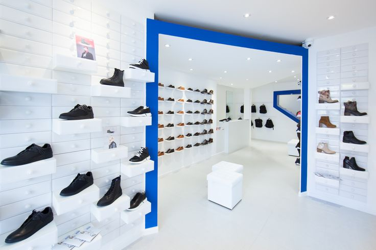 WINK Store at Oktogon, Budapest, Hungary. Designed by Miklos Kiss.