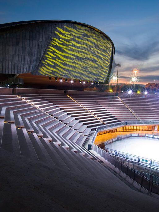 Parco della Musica Auditorium, Rome   Renzo Piano Building Workshop; Photo © Agnese Sanvito   Archinect